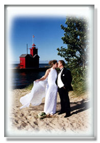 wedding photography lighthouse photo